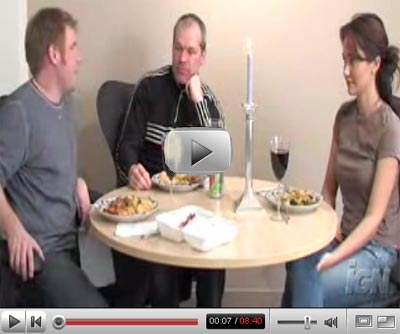 Dinner with Uwe Boll