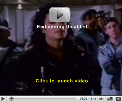 Click here to see the video for Michael Jackson's 'Bad'