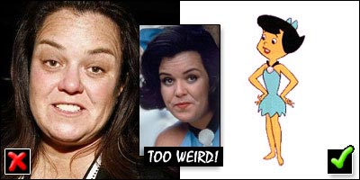 Rosie O'Donnell as Betty Rubble in The Flintstones