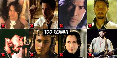 Keanu Reeves is shit in everything except The Matrix and Bill And Ted