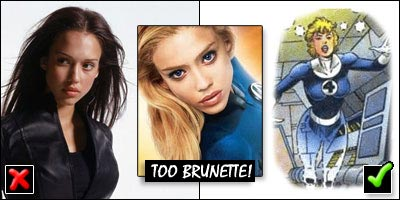 Jessica Alba as Sue Storm in Fantastic Four