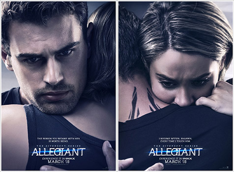 ಠ_ಠ Someone forgot to make these Allegiant posters actually match up