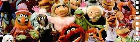 50 Muppets and their real-life acting counterparts