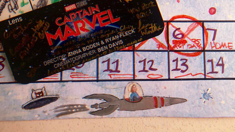 7 clues found in Brie Larson's Captain Marvel film-wrap photo