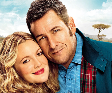 Adam Sandler visually thrilled to be reunited with Drew ...