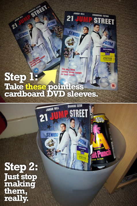 Attention DVD retailers: How to save money in two simple steps