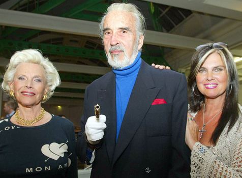 Christopher Lee 'extremely pissed off' to reprise Bond role on promo duty