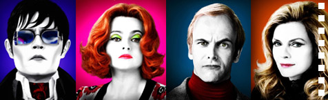 Dark Shadows character posters given kooky face-swap makeover
