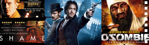 DVD weekly: Sherlock, Fassbender's wang and zombie bin Laden