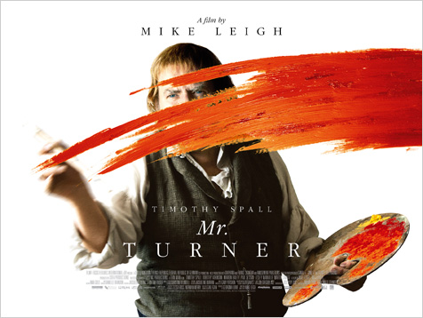 Exclusive reveal: what is Mr Turner painting in his poster?