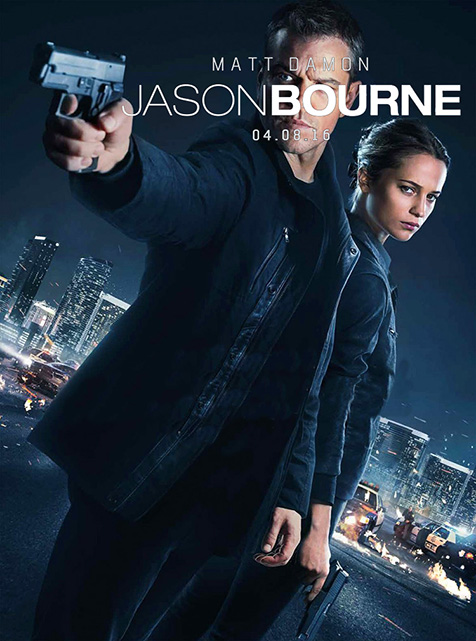 Fixed the new Jason Bourne poster