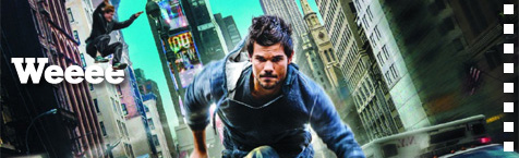 Full trailer and poster for the Taylor Lautner parkour movie FINALLY