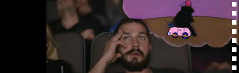 Guess the Shia LaBeouf film from the #AllMyMovies screengrab