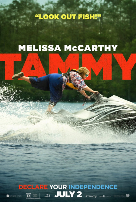 """Guys, this new Tammy poster needs a tagline. I'm out of ideas. Anyone?"""