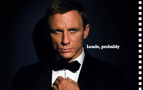 How many words did SlashFilm write on the Bond non-announcement?