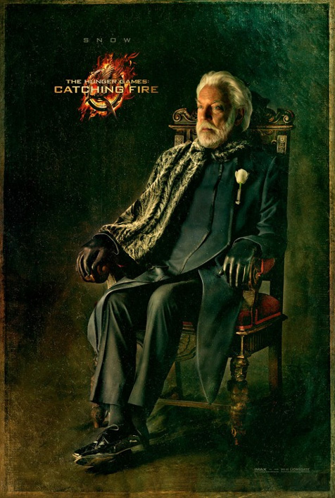 Exciting new Catching Fire posters feature old men sitting in chairs