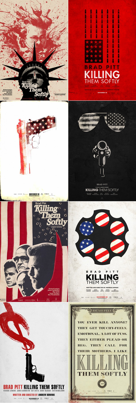I'm not sure, but I think Killing Them Softly is about violence in America