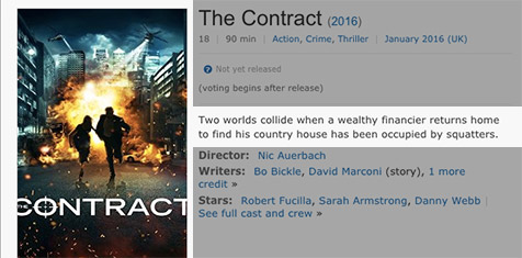 Is this the biggest poster/synopsis mismatch currently on IMDB?