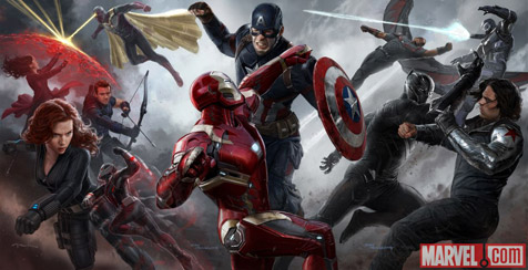 Marvel Civil War concept art confirms Hawkeye is still completely ineffective