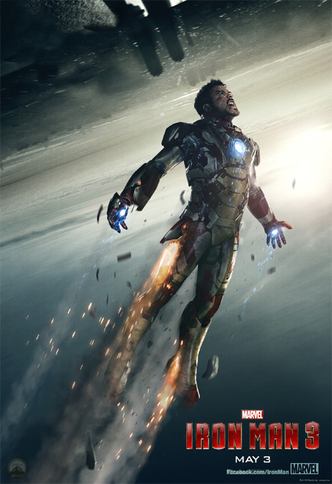 New Iron Man 3 poster arguably looks even better upside nmoo