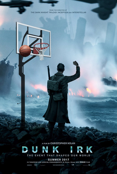 New poster released for Christopher Nolan's Dunk Irk