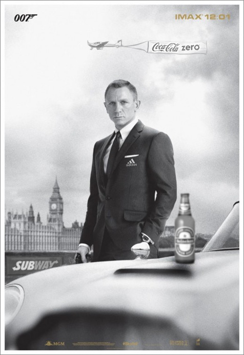 Skyfall gets extra-classy IMAX poster