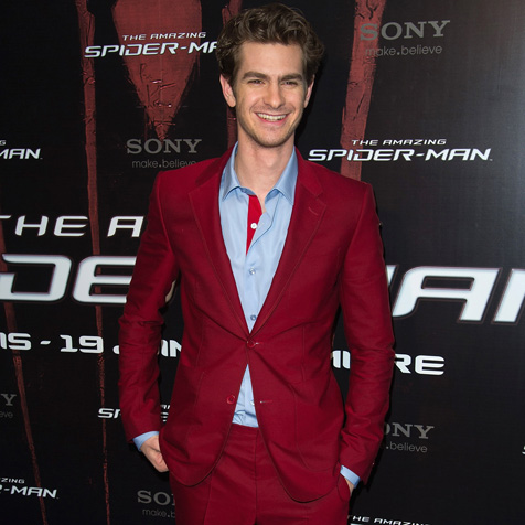 Suitwatch: Andrew Garfield looks très bon at French Spidey premiere