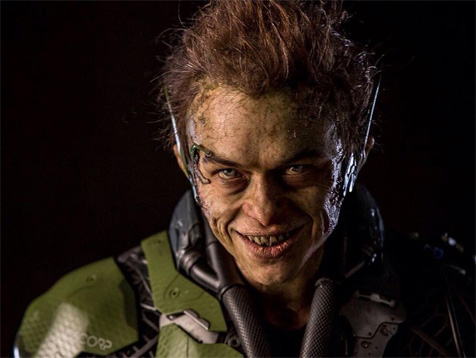 The Amazing Spider-Man's Green Goblin looks familiar