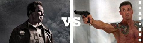 The Last Stand vs Bullet To The Head: who's the ultimate action OAP?