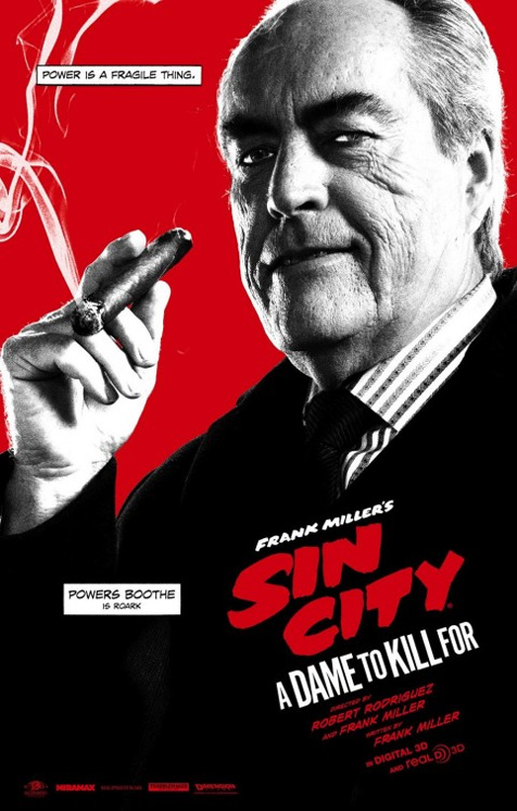 The Sin City 2 character poster you've all been waiting for