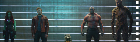 There's someone missing in the first Guardians Of The Galaxy image