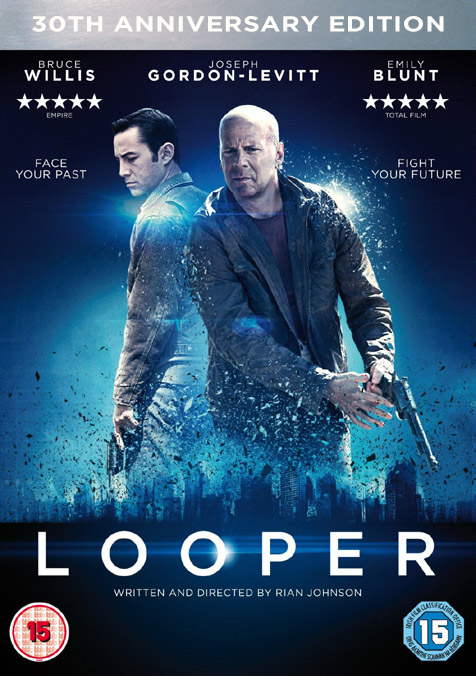 What they should have done with the Looper DVD packaging