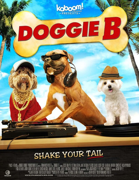 ... by Doggie B: the cool dude dog who enters a breakdancing contest in  order to save his Uncle's dance studio. Chris Nolan doesn't even know he's  born.