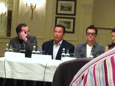 3 Best Arnie quotes from the The Last Stand press junket