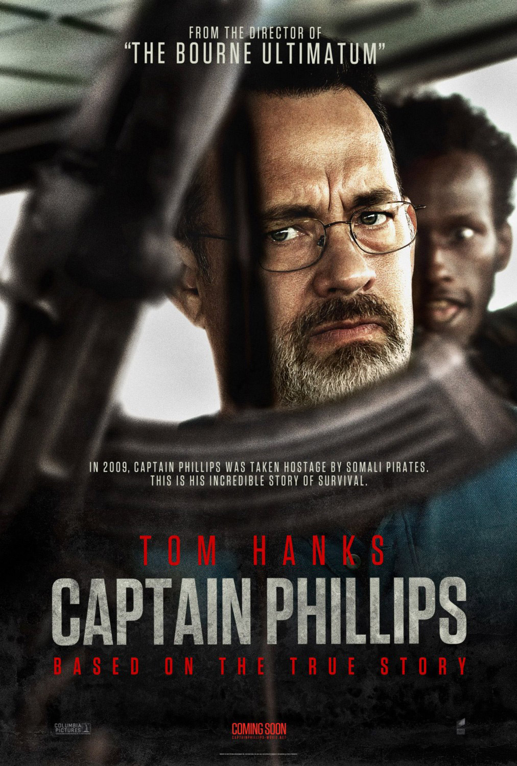 Notorious photobomber returns for Captain Phillips poster ...