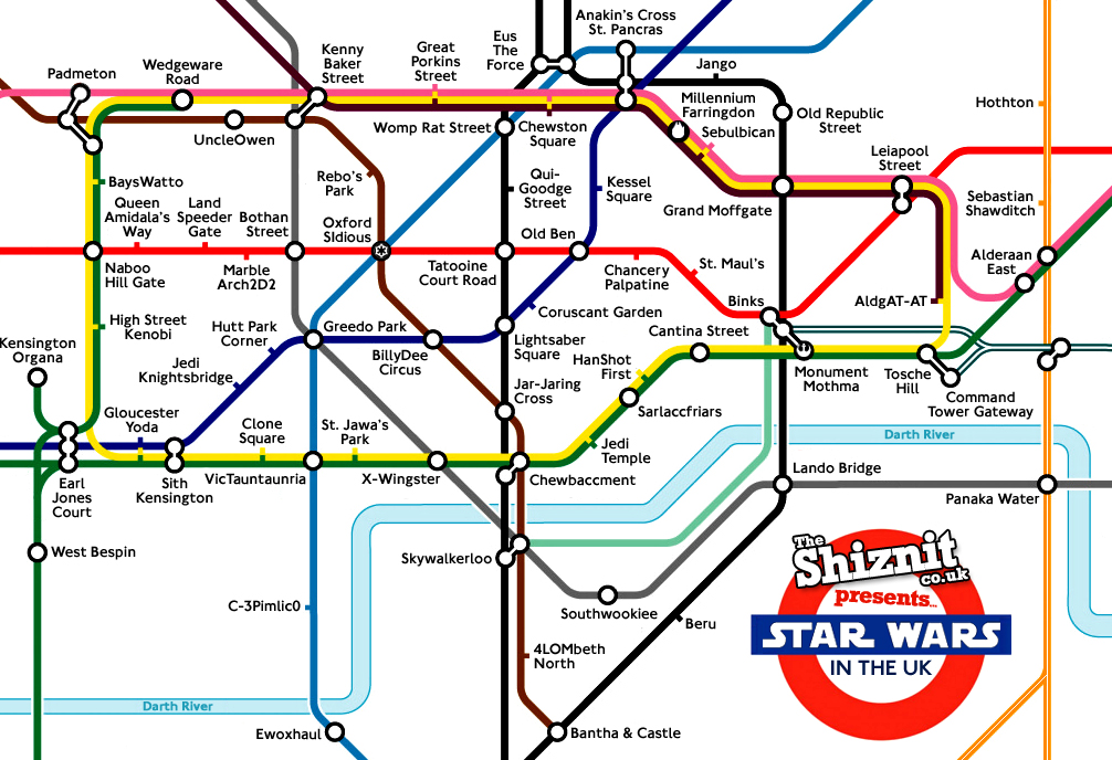 star wars in the uk the london underground feels the force movie feature theshiznitcouk