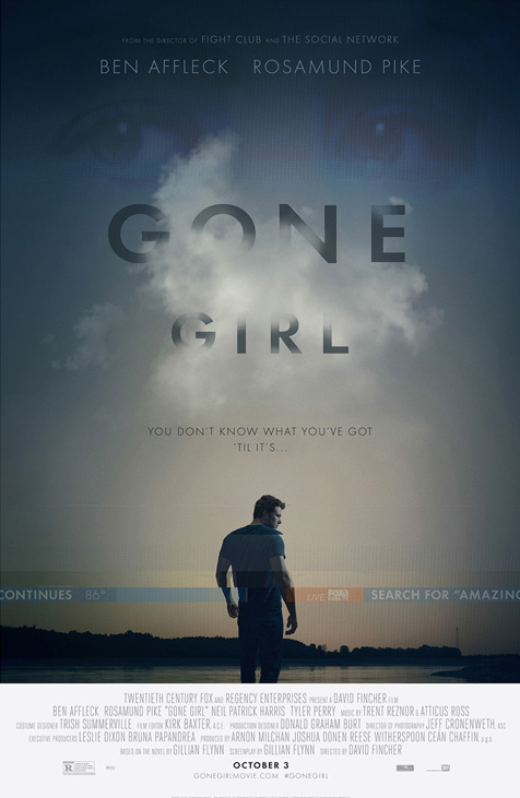 Here's that amazing Gone Girl poster easter egg you didn't notice - Movie Feature
