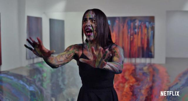 Review: Velvet Buzzsaw paints a dark canvas but is worse than the