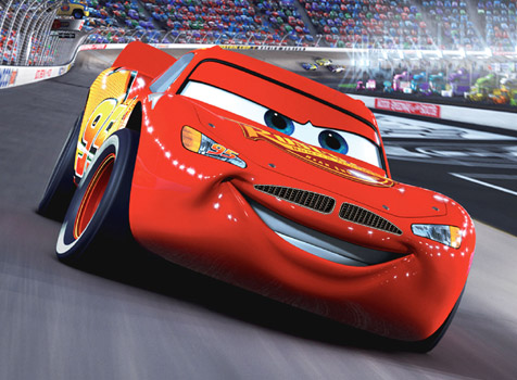 lightning mcqueen - Cars The Movie 2 Characters